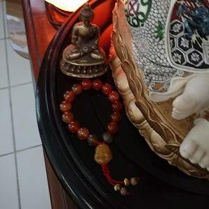 Carnelian feng shui bracelet